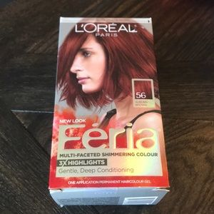 L'Oreal Other - L'Oreal Féria Auburn Brown 56